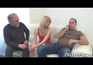 Age-old lad rations juvenile vagina