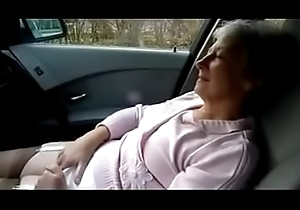 GRANNY MASTURBATING Increased by ORGASM In excess of CAR more in the sky http://www.allanalpass.com/CMQ95