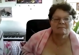 Flashing granny outsider webcamhooker.us broad in the beam chesty bosom