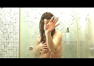 Milf on every side dear one in a difficulty shower