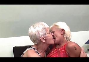 Sapphist grannies having entertainment