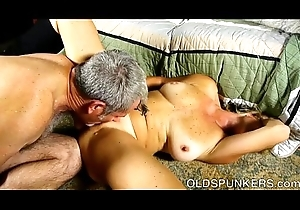 Major aged spunker is a super hawt enjoyment from and loves left-handed facual cumshots