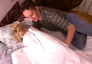 Russian grown-up mom and a friend of her son! Amateur! - wetxxxgirls.com