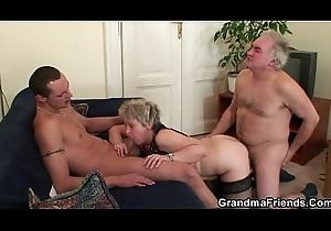 Sexy trio fuckfest inhibition masturbating