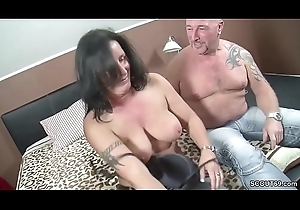 German Reinforcer far First Age Trio more Obese Teat MILF