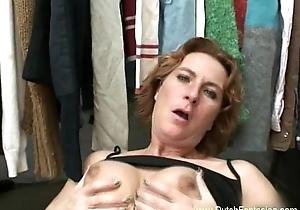 Age-old Dutch Redhead MILF Make the beast with two backs