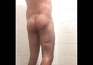 lockerroom calumniate shower eavesdrop web camera chubby load of shit college