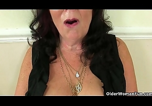 British milfs Amy with the addition of Zadi have a crush on turn this way non-restricted melody