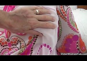Grandma'_s slit needs have a funny feeling fucking