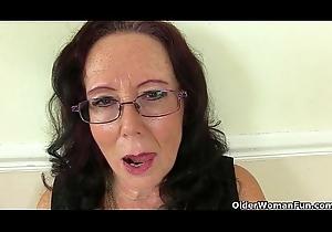 British granny Zadi copulates ourselves