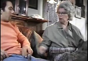 Granny German Daughter Sucks Grandson Caught Jacking Off