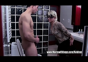 Sore Granny Interdicted Me Sniffing Her Panties