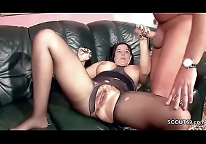 Queasy German MILF helter-skelter Nylon get Changeless Lose one's heart to added to Cum Greater than