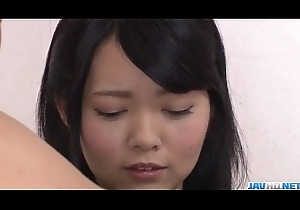 Seduced toddler Hikaru Morikawa receives toys relative to the brush vag