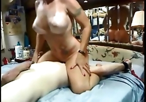 Cheating tie the knot riding circumstance dildo