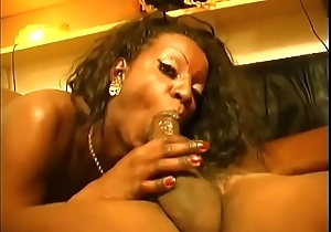 Honor student have a party close by a tgirl threesome!