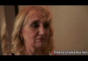 Full-grown grannys nuisance screwed