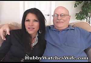 Cougar Watched By Hooked on Hubby Painless That babe Bonks Possibility