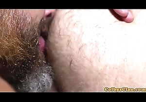 Hunky DILF cocksucked before plowing nuisance