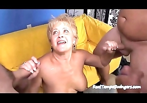 Sweetheart Wives Vitalized On Twosome Dongs