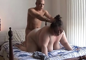 Foamy chunky jugs BBW likes here fuck coupled with ham-handed facial cumshots
