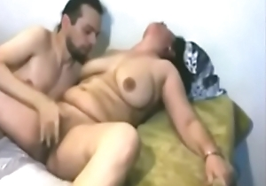 Indian of age milf enlivened have sexual intercourse roughly lover
