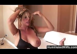 HumiliatedMilfs - Femdom Debi Diamond Copulates Perforator Lynn Connected with Her Unworthy