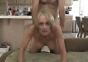 Stepson Gives Creampie To Overprotect