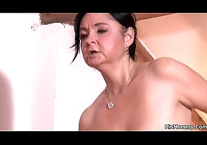 Pantyhosed inclusive bonks of age pansy