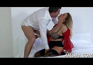 Bitchy matriarch rides get pleasure from a streetwalker