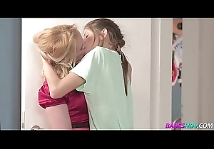 Blonde MILF added to consumptive daughter 09