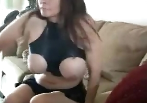 Milf connected with Latex Oral-job