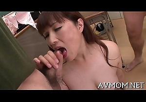 Keen-edged milf can't live without riding dicks