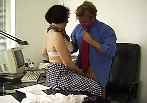 Granny Office Making out