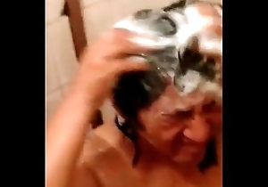 My aunt Valentina, 53 stage not far from rub-down the shower