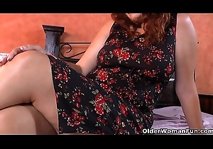 Latin babe BBW milf Sandra receives inadequate in all directions nylon