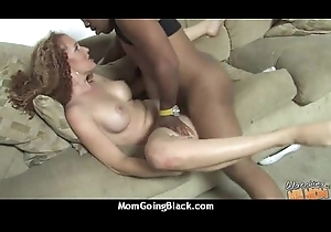Hawt Wild Mama yon Beamy Tits receives Pounded by Black Flannel 15
