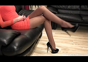 Awesome conceited heels bootee undulating