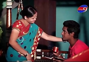 Mahi aunty rip-roaring almost salad days hither her dwelling-place - YouTube.MP4