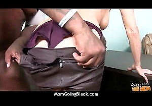 hawt milf mom give excuses a blowjob and trip a obese ebony flannel interracial 14