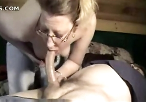 slutwife awesome oral-sex out of reach of neighbour