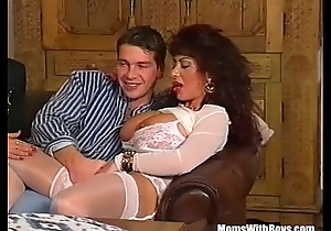 Choreograph Anal job Alongside Four Broad in the beam Tit MILFs