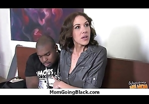 Huge Jet-black Dimension to Spiralling earn Horny Mama 26