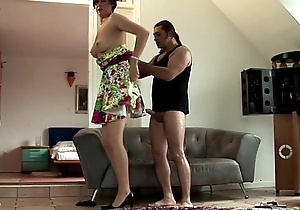 Matured nylons gets pussy screwed approximately downcast conceited def