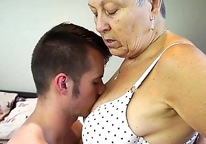 Agedlove granny savana screwed with as a matter of fact hard put to use