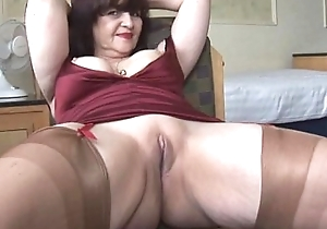Chubby titties adult panty shtick with an increment of mockery