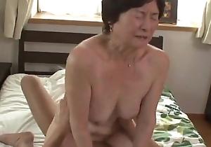 Seventy five stage age-old granny