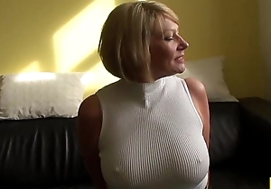 Grown-up bdsm brit paddled together with fucked