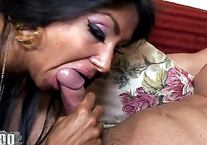 Ivannah (french milf) - four knob for a hirsute cookie