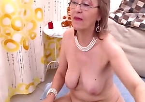 Granny fills twosome as well as chum around anent annoy other holes anent toys